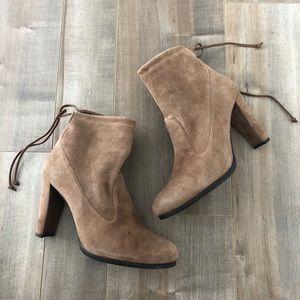 Stuart Weitzman Mitten ankle boots